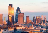 Лондон в лучах рассвета