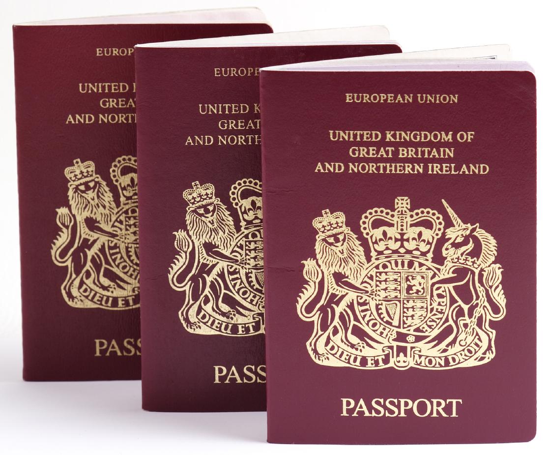 Три краснокожих паспортины