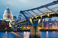 Мост Тысячелетия в Лондоне