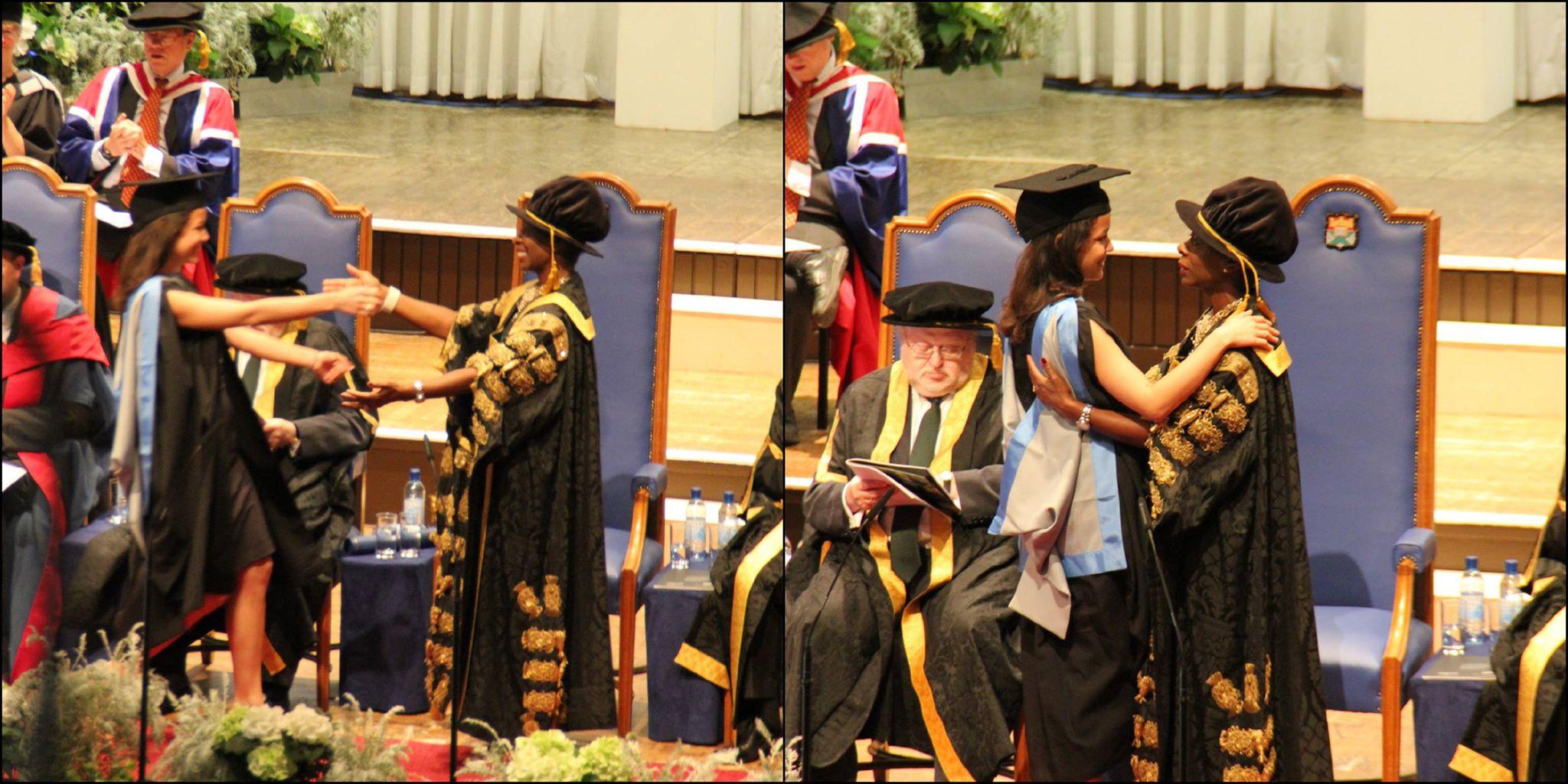 Александра Мочалова – выпускница Эксетерского университета (фото взято с личной Facebook-странцы Александры)