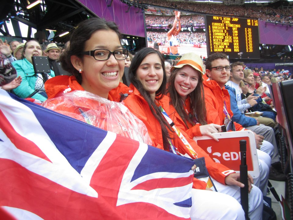 Александра: «Самым ярким опытом оказалась волонтерская работа на Олимпийских играх в Лондоне в 2012 г.»